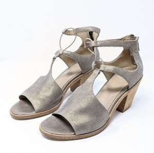 Eileen Fisher Lou Block Heel Sandals